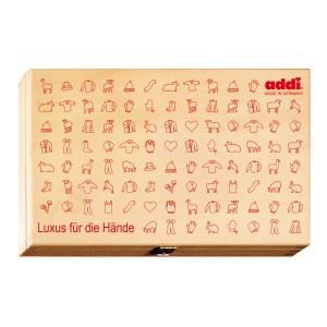 addi Holzbox für Rundstricknadeln