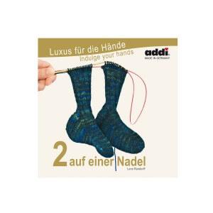 addi Sockenstricken: 2 auf einer Nadel (deutsch)