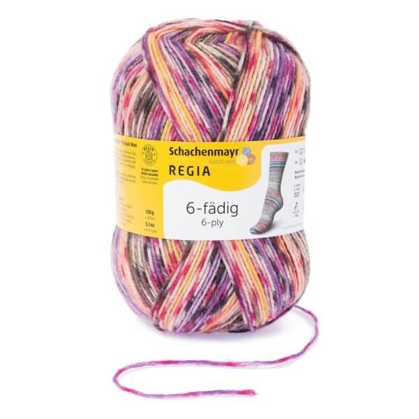Regia 6-fädig Color 150g