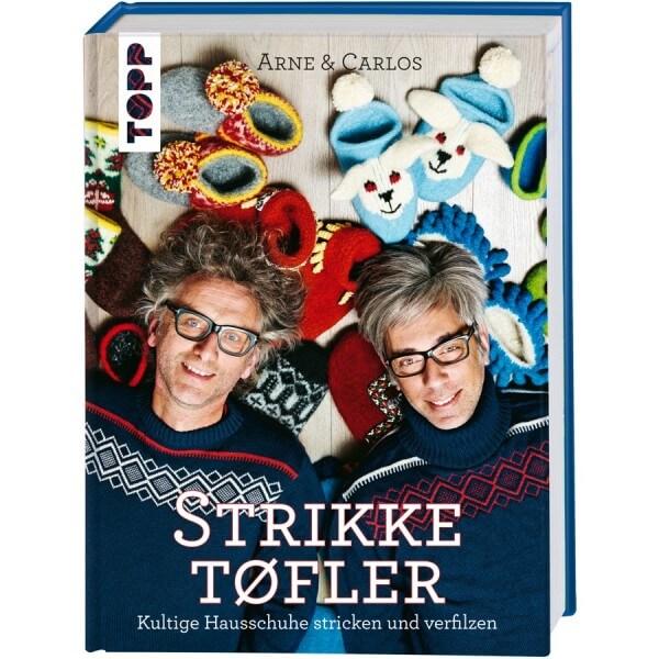 Strikketøfler – Kultige Hausschuhe stricken & verfilzen
