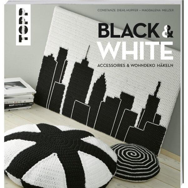 Black & White – Accessoires und Wohndeko häkeln