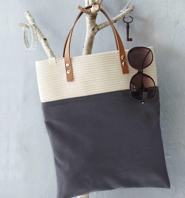 Seil Style Taschen Körbe Und Co Aus Seilen Nähen